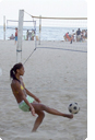 foot volleyball