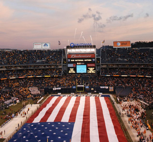 The Holiday Bowl at Qualcomm Stadium