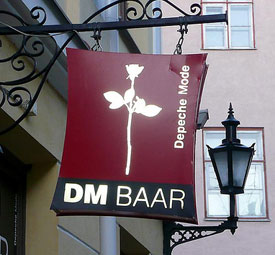 Depeche Mode Baar in Tallinn, Estonia photo via flickr Dennis@Stromness
