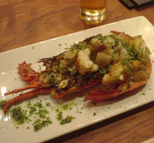 Not far from Mt. Fuji, Izu is rich with seafood and the Ise lobster is a specialty in South Izu.