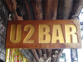 U2 Bar in Patong Beach, Thailand