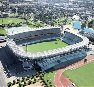 Vodacom Park - This Bloemfontein stadium is one of the largest in the Free State province with a capacity to seat 48,000 supporters.