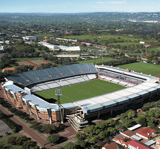 Loftus Versveld Stadium - A favorite stadium among South African sports enthusiasts, this stadium in Pretoria seats 50,000 fans.
