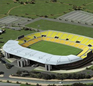 Peter Mokaba Stadium - This Polokwane stadium is the pride and joy of soccer fans in Limpopo. With a capacity of 46,000, the Peter Mokaba Stadium will host four first round matches.