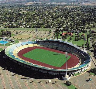 Royal Bafokeng Stadium - This North West province stadium is found near the host city of Rustenburg and has the capacity to accommodate 42,000 people.