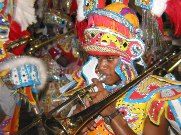 Junkanoo Bahamas culture Mega Party costumes band