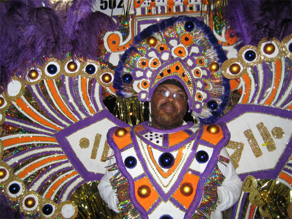 Junkanoo Bahamas culture Mega Party costume performer